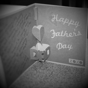 Father's Day Card made with Silhouette Portrait